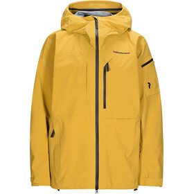 Peak Performance Alpine Jacket Herre Smudge Yellow